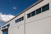 Exterior image of the SRI ABSL 2 renovation in Frederick MD by Jeffrey Sauers of Commercial Photographics.