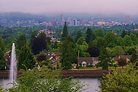 Portland Skyline from Mount Tabor Park