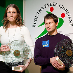 20111214: SLO,  Ljubljana's Sportsman of the year and Sportswoman of the year 2010 annual awards