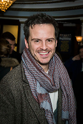 Andrew Scott attends the Beginning press night at the Ambassadors Theatre, London. Picture date: Tuesday 23rd January 2018.  Photo credit should read:  David Jensen/ EMPICS Entertainment