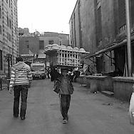 Egypt . Cairo : market  behind  Muhammad ABU DAHAB mosque.   in islamic Cairo     NM75 NM76