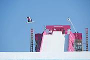 Reira Iwabuchi, Japan, during the womens snowboard big air final at the Pyeongchang 2018 Winter Olympics on 22nd February 2018, at the Alpensia Ski Jumping Centre in Pyeongchang-gun, South Korea