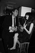 Bryan Ferry and Katherine Turner, Charles Finch and Chanel 7th Anniversary Pre-Bafta party to celebratew A Great Year of Film and Fashiont at Annabel's. Berkeley Sq. London W1. 10 February 2007. -DO NOT ARCHIVE-© Copyright Photograph by Dafydd Jones. 248 Clapham Rd. London SW9 0PZ. Tel 0207 820 0771. www.dafjones.com.