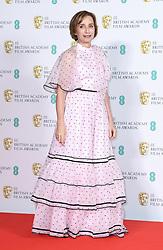 Kristin Scott Thomas at the 73rd British Academy Film Awards held at the Royal Albert Hall, London.. Photo credit should read: Doug Peters/EMPICS