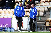 Fotball , 27. april 2013 , Tippeligaen , Elitesereien<br /> Lillestrøm - Start 3-2<br />  trener Mons Ivar Mjelde , Start og assistent trener