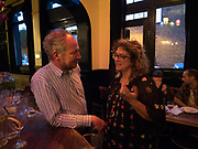 CARL FREEDMAN; ANYA GALLACHIO, The Approach 20th Anniversary party. The Approach, Bethnal Green. London. 3 July 2017