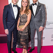 NLD/Amsterdam/20190910 - Het Nationale Ballet Gala 2019, Lucas Jussen en partner en broer Arthur Jussen