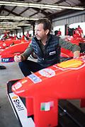 May 7, 2019: F1 Clienti Program at Sonoma Raceway. Ferrari 310B Justin Bell