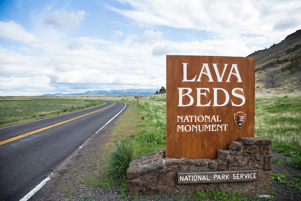 Lava Beds National Monument, California.