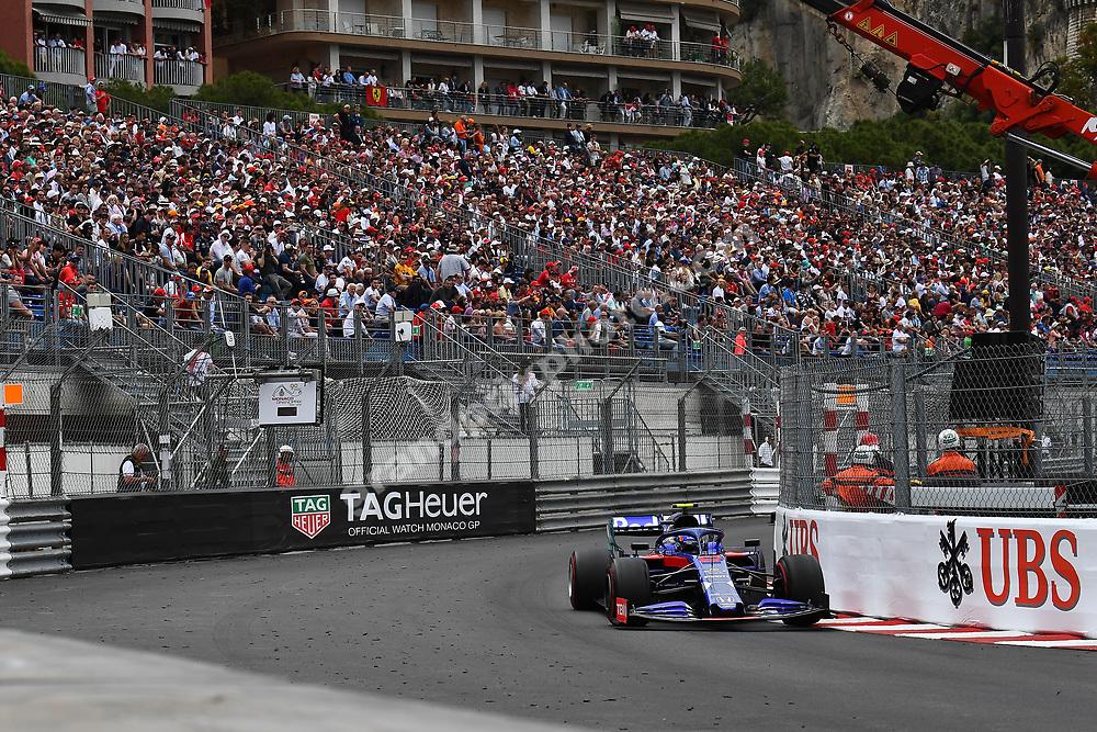 Alexander Albon (Toro Rosso-Honda) during the 2019 Monaco Grand Prix. Photo: Grand Prix Photo