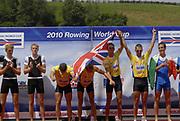 Lucerne, Switzerland.  2010 FISA World Cup. Lake Rotsee, Lucerne.  13:40:08   Sunday  11/07/2010.  [Mandatory Credit Peter Spurrier/ Intersport Images]