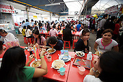 Food Center in South Satorn Road. Office clerks having lunch.