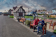 BY THE SEA ALDEBURGH - colour photo art by Paul Williams of the picturesque  sea front of Aldeburgh, Suffolk, taken 2005-2009. .<br /> <br /> Visit our REPORTAGE & STREET PEOPLE PHOTO ART PRINT COLLECTIONS for more wall art photos to browse https://funkystock.photoshelter.com/gallery-collection/People-Photo-art-Prints-by-Photographer-Paul-Williams/C0000g1LA1LacMD8
