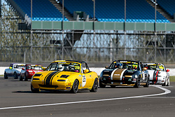 Adam Craig pictured while competing in the BRSCC Mazda MX-5 Championship. Image taken at Silverstone on September 12/13, 2020 by BRSCC photographer Jonathan Elsey