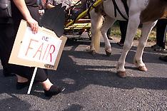 SEP 10 2000 Gypsy Fair Protest in Horsmonden