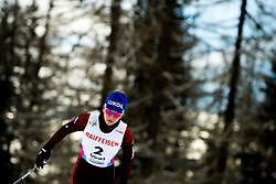 February 2, 2018 - Goms, SWITZERLAND - 180202 Natalia Neprjaeva of Russia competes in the women's 7,5/7,5 km skiathlon during the FIS U23 Cross-Country World Ski Championships on February 2, 2018 in Obergoms..Photo: Vegard Wivestad GrÂ¿tt / BILDBYRN / kod VG / 170095 (Credit Image: © Vegard Wivestad Gr¯Tt/Bildbyran via ZUMA Press)