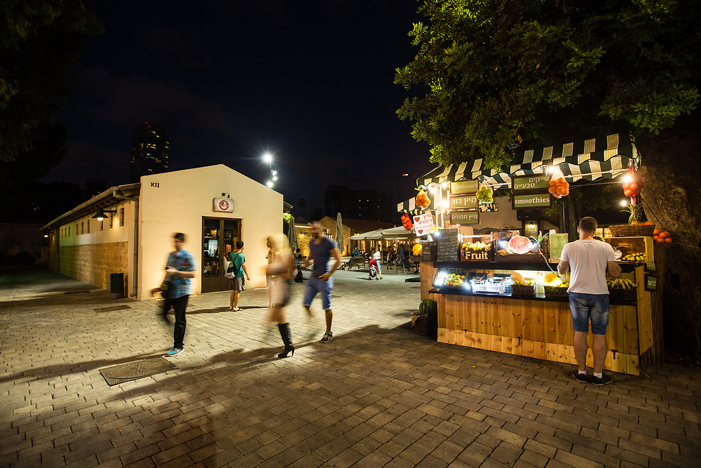 HaTachana, the Old Railway Station in Tel Aviv's Neve Tzedek neighborhood