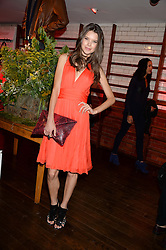 SARAH ANN MACKLIN at the Men's Health, Oliver Spencer & Liberty Party held at Liberty, Regent Street, London on 17th June 2013.