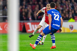 13-03-2019 NED: Ajax - PEC Zwolle, Amsterdam<br /> Ajax has booked an oppressive victory over PEC Zwolle without entertaining the public 2-1 / Donny van de Beek #6 of Ajax