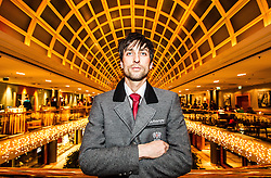 28.01.2014,  Marriott, Wien, AUT, Sochi 2014, Einkleidung OeOC, im Bild Mario Stecher (Nordische Kombination, AUT) // Mario Stecher (Nordic Combined, AUT) during the outfitting of the Austrian National Olympic Committee for Sochi 2014 at the  Marriott in Vienna, Austria on 2014/01/28. EXPA Pictures © 2014, PhotoCredit: EXPA/ JFK