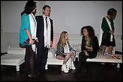 NICK MORAN; ANAIS GALLAGHER; JEANETTE CALLIVA, White By Agadir -  launch party <br /> to promote the Moroccan resort of Agadir , Il Bottaccio, 9 Grosvenor Place, London, 4 November 2014