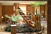 Koa, canoeLobby  of Kauai Marriott<br />