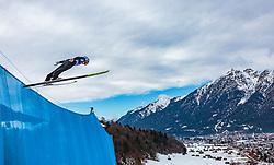 01.01.2018, Olympiaschanze, Garmisch Partenkirchen, GER, FIS Weltcup Ski Sprung, Vierschanzentournee, Garmisch Partenkirchen, Wertungsdurchgang, im Bild Gregor Schlierenzauer (AUT) // Gregor Schlierenzauer of Austria during his Competition Jump for the Four Hills Tournament of FIS Ski Jumping World Cup at the Olympiaschanze in Garmisch Partenkirchen, Germany on 2018/01/01. EXPA Pictures © 2018, PhotoCredit: EXPA/ Stefanie Oberhauser