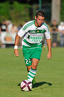 FOOTBALL - FRIENDLY GAMES 2011/2012 - AS SAINT ETIENNE v FC ISTRES  - 8/07/2011 - PHOTO GUY JEFFROY / DPPI - YORIC RAVET (ASSE)