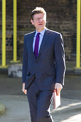 Downing Street, London, April 25th 2017. Business Secretary Greg Clark attends the weekly cabinet meeting at 10 Downing Street in London. Credit: ©Paul Davey