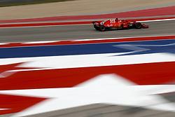 October 20, 2018 - Austin, United States - Motorsports: FIA Formula One World Championship; 2018; Grand Prix; United States, FORMULA 1 PIRELLI 2018 UNITED S GRAND PRIX , Circuit of The Americas , #5 Sebastian Vettel (GER, Scuderia Ferrari) (Credit Image: © Hoch Zwei via ZUMA Wire)