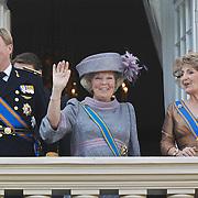 NLD/Den Haag/20100921 - Prinsjesdag 2010, Prins Willem - Alexander, Koningin Beatrix, Prinses Margriet