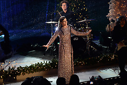 November 30, 2016 - New York, NY, USA - November 30, 2016  New York City..Sarah McLachlan performing at The Rockefeller Center Christmas Tree lighting ceremony on November 30, 2016 in New York City. (Credit Image: © Callahan/Ace Pictures via ZUMA Press)