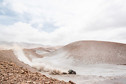January 10, 2019 - Arequipa, Peru - AREQUIPA, PU - 10.01.2019: DAKAR 20189 - Reinaldo Varela (BRA) during the Dakar Rally 2019, on Wednesday (10), in Arequipa, Peru. (Credit Image: © Victor EleutéRio/Fotoarena via ZUMA Press)
