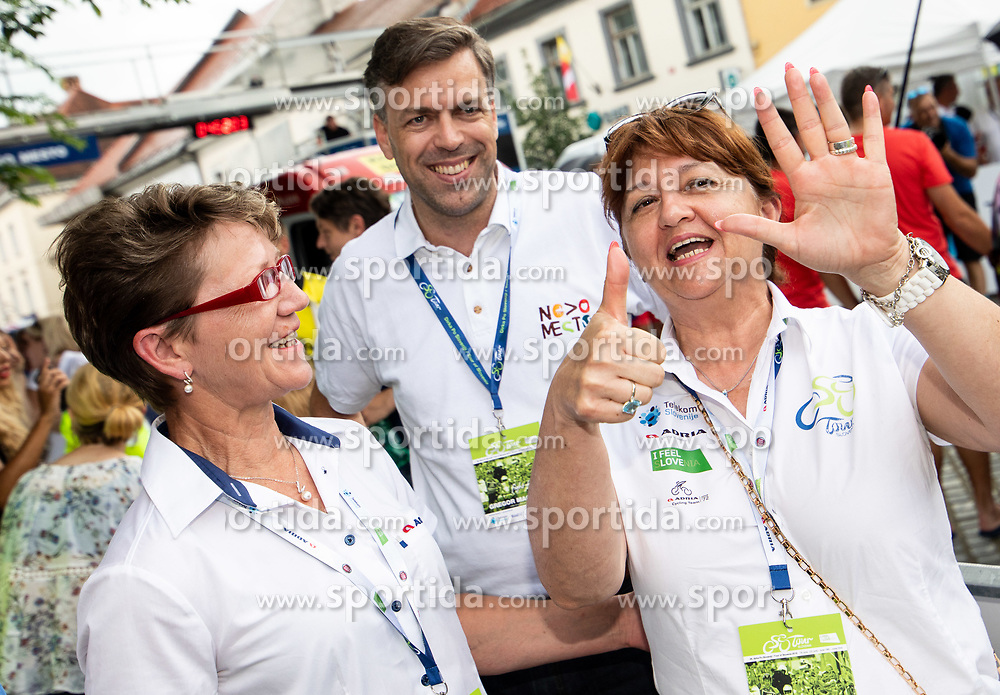 Sonja Gole, Mojca Novak during 5th Stage of 26th Tour of Slovenia 2019 cycling race between Trebnje and Novo mesto (167,5 km), on June 23, 2019 in Slovenia. Photo by Vid Ponikvar / Sportida