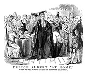 "Prince Albert ""At Home."" When he will sustain no end of different characters."