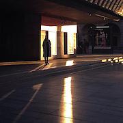 Waiting. #prag #praha #prague #latergram #czechrepublic #woman #light #shadow #waiting #narodnidivadlo
