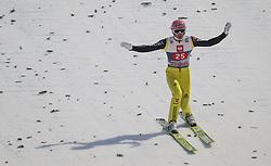 06.01.2013, Paul Ausserleitner Schanze, Bischofshofen, AUT, FIS Ski Sprung Weltcup, 61. Vierschanzentournee, Bewerb, im Bild Severin Freund (GER) // Severin Freund of Germany during Competition of 61th Four Hills Tournament of FIS Ski Jumping World Cup at the Paul Ausserleitner Schanze, Bischofshofen, Austria on 2013/01/06. EXPA Pictures © 2012, PhotoCredit: EXPA/ Juergen Feichter