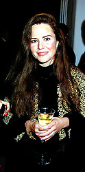 MISS KOO STARK at a party in London on 7th October 1999.MXI 60