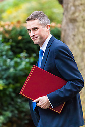 London, November 14 2017. Defence Secretary Gavin Williamson attends the UK cabinet meeting at Downing Street. © Paul Davey