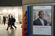 Sadiq Khan. Poster in Canary Wharf. London was the only region in England that voted to remain in the EU referendum, but the British public as a whole voted to leave. Banking is just the tip of the iceberg with many other industries also making irrevocable decisions. The damage to the economy from Brexit is already afoot — so much so that the act of leaving the EU itself is, at this point, increasingly irrelevant. Businesses are closing, uncertainty reigns. Brexit is increasingly fraught with uncertainty after the UK's parliament rejected Prime Minister Theresa May's Brexit deal many times.
