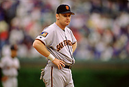 CHICAGO - 1994:  Matt Williams of the San Francisco Giants looks on during an MLB game versus the Chicago Cubs at Wrigley Field in Chicago, Illinois during the 1994 season. (Photo by Ron Vesely) Subject:   Matt Williams