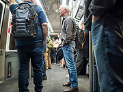 17 FEBRUARY 2020 - ATLANTA, GEORGIA:   Tram between concourses in Atlanta's Hartsfield–Jackson Atlanta International Airport, the world's busiest airport by passenger count.  PHOTO BY JACK KURTZ