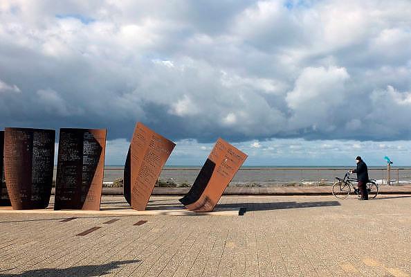 Nederland, Katwijk aan zee, 28-10-2012Het monument ter negedachtenis aan zeelieden, vissers, die niet meer van zee terugkeerden.Foto: Flip Franssen/Hollandse Hoogte