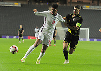 Football - 2023 UEFA European Under-21 Championship - Qualifying - Group G - England vs Kosovo - Stadium MK - Tuesday 7th September 2021<br /> <br /> Tyreece John - Jules of England<br /> <br /> Credit : COLORSPORT/Andrew Cowie
