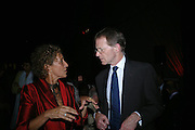 Lady Hollick and Sir Nicholas Serota. The Art Party, Tate Modern. a party to raise funds for 'Art for All'. 16 June 2005. ONE TIME USE ONLY - DO NOT ARCHIVE  © Copyright Photograph by Dafydd Jones 66 Stockwell Park Rd. London SW9 0DA Tel 020 7733 0108 www.dafjones.com