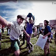 International Pillow Fight Day -The Kansas City Iteration, at Mill Creek Park on the Plaza
