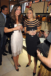 Left to right, KATE MIDDLETON and EMILY MAITLIS at a party to celebrate the publication of 'Young Stalin' by Simon Sebag-Montefiore at Asprey, New Bond Street, London on 14th May 2007.<br /><br />NON EXCLUSIVE - WORLD RIGHTS