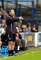 Photo: Olly Greenwood.<br />Colchester United v Southampton. Coca Cola Championship. 28/10/2006. Colchester's manager Geriant Williams