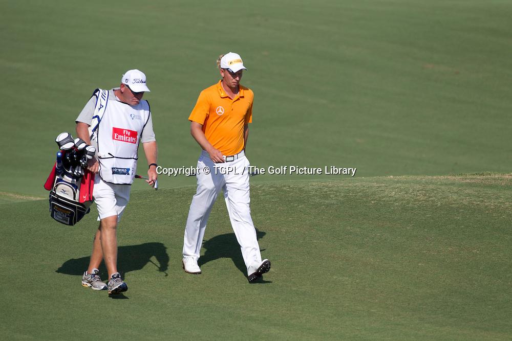 Marcel SIEM (GER) during first round DP World Tour Championship 2013,Jemeirah Golf Estates, Dubai,UAE.