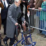 NLD/Wassenaar/20080403 - Herdenkingsdienst Erik Hazelhoff Roelfzema, verzetsstrijder